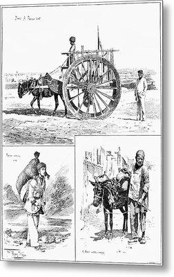 Azerbaijan Baku, 1890 Metal Print by Granger