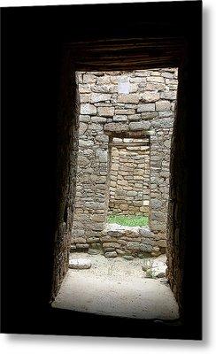 Aztec Doorway Metal Print by Joe Kozlowski