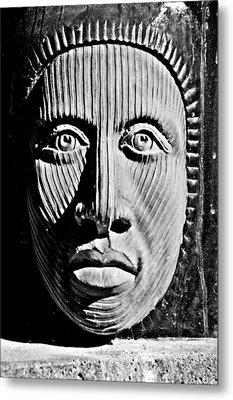 Aztec Man Metal Print by Bob Wall