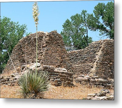 Aztec Ruins National Monument Metal Print by Laurel Powell