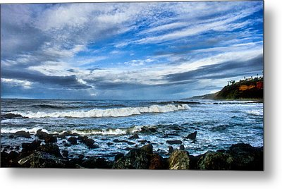 Metal Print featuring the photograph Azure Seas by Joseph Hollingsworth