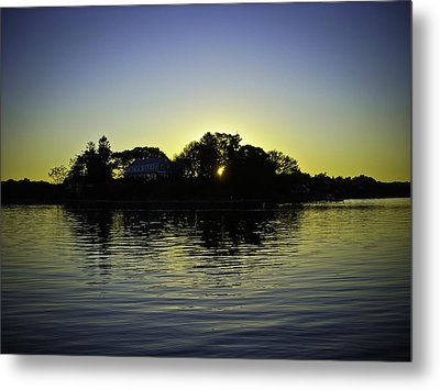 Azure Sunset At Onset Bay Metal Print by LA Beaulieu