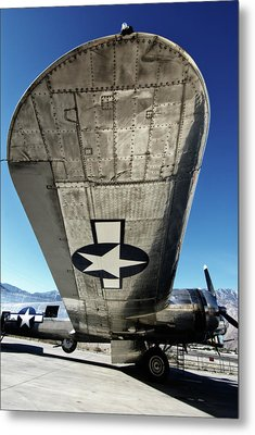 B 17 Sentimental Journey Metal Print