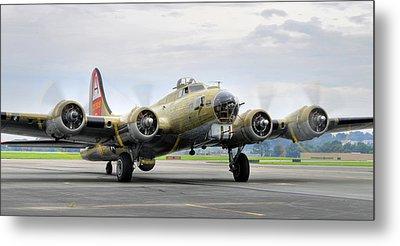 B-17g Metal Print by Dan Myers