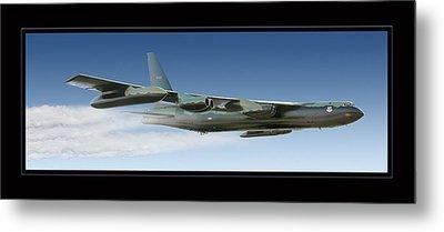 B-52 Stratofortress Metal Print by Larry McManus