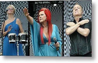 Metal Print featuring the photograph B-52s by Don Olea