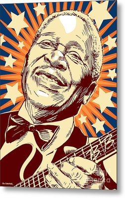 B. B. King Metal Print by Jim Zahniser