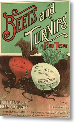 B Feldman & Co  1920s Uk  Cc Metal Print by The Advertising Archives