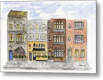 Babbo @ Waverly Place Metal Print