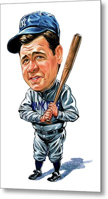 Babe Ruth Metal Print by Art