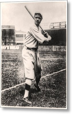 Babe Ruth Metal Print by Bill Cannon