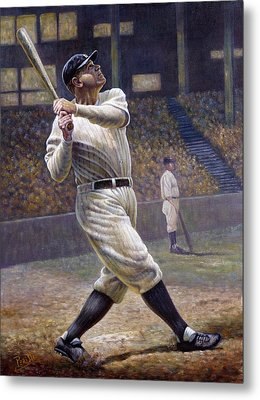 Babe Ruth Metal Print by Gregory Perillo