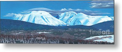 Babine Mountain Range Metal Print