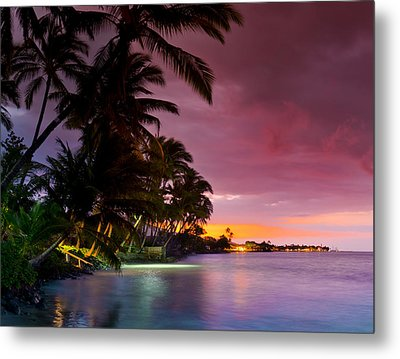 Baby Blues And Pinks Metal Print by Sean Davey