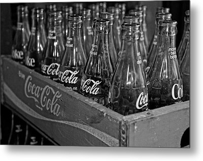 Baby Cokes Metal Print by Andy Crawford