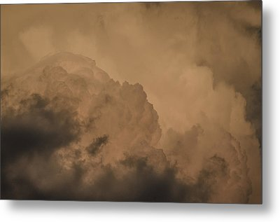Metal Print featuring the photograph Baby In The Clouds by Bradley Clay