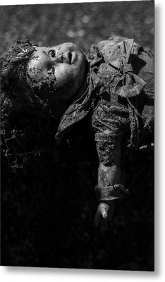 Metal Print featuring the photograph Baby Mine by Rebecca Sherman