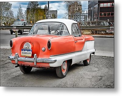 Baby Nash Metal Print by Dyle   Warren
