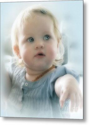 Baby's Got Blue Eyes Metal Print