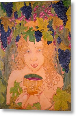 Bacchus Metal Print by Ron Moses