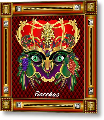 Bacchus V-1 Vector Sample Metal Print by Bill Campitelle