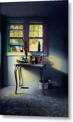 Bachelor's Kitchen - V Metal Print