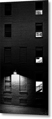 Back Alley 330am Metal Print by Bob Orsillo