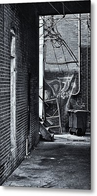 Metal Print featuring the photograph Back Alley by Greg Jackson