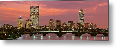 Back Bay, Boston, Massachusetts, Usa Metal Print by Panoramic Images