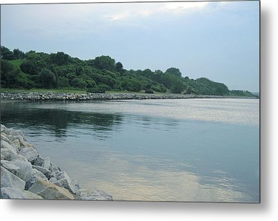 Back Cove  Metal Print by Patricia E Sundik