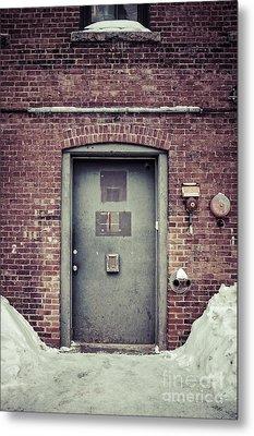 Back Door Alley Way Metal Print by Edward Fielding