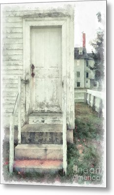 Back Door Metal Print
