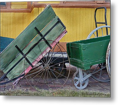 Back In The Day Metal Print by Sylvia Thornton