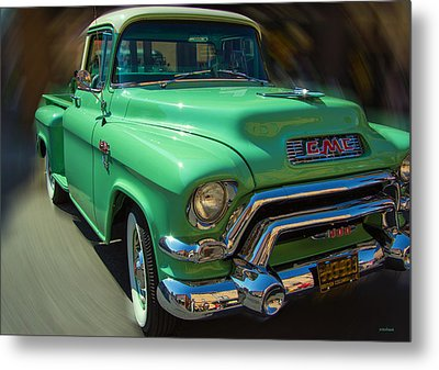 Back In Time Metal Print by Kathy Bassett