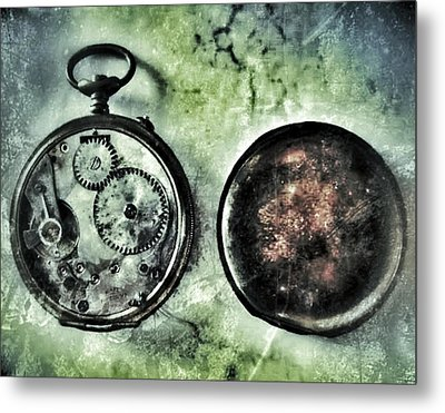 Back In Time Metal Print