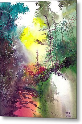 Back To Jungle Metal Print by Anil Nene