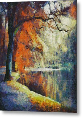 Metal Print featuring the painting Back To Our Dreams by Joe Misrasi