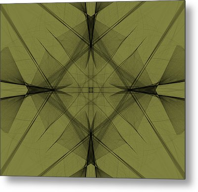 Back To The Drawing Board Metal Print by Jennifer Muller