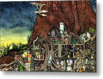 Back To Your Roots Metal Print by Colin Thompson
