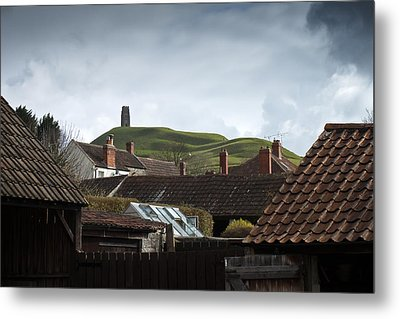 Metal Print featuring the photograph Back Yard Tor by Stewart Scott