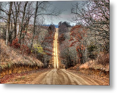 Backroad Metal Print by Thomas Danilovich