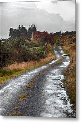 Backroads Of Ireland Metal Print by Trever Miller