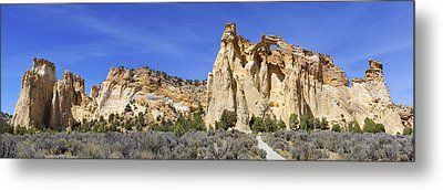 Backroads Utah Panoramic 2 Metal Print by Mike McGlothlen