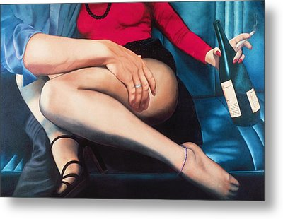 Backseat Number Metal Print