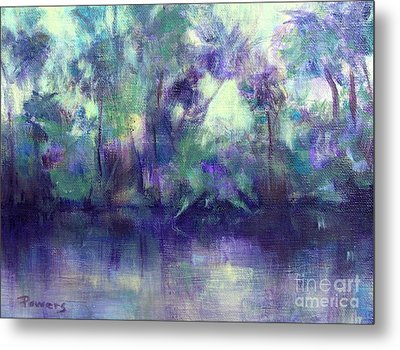 Backwater Metal Print