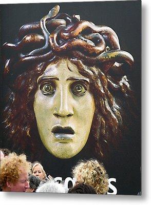 bad hair day at d'Orsay museum, Paris.  Metal Print by Joe Schofield