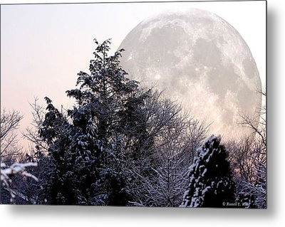 Bad Moon Risin' Metal Print by Russell  King