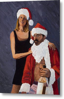 Bad Santa II Metal Print