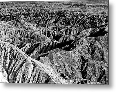 Metal Print featuring the photograph Badlands Of Great American Southwest - 2 by Photography  By Sai