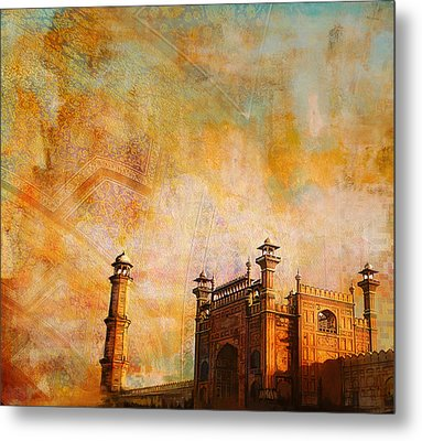 Badshahi Mosque Metal Print by Catf